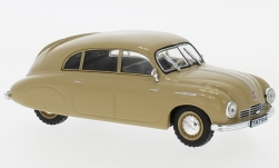 Modelcar - <strong>Tatra</strong> 600 Tatraplan, dunkelbeige, 1950<br /><br />WhiteBox, 1:43<br />No. 227776