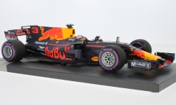 Modelcar - <strong>Red Bull</strong> TAG Heuer RB13, No.3, Red Bull Racing, Red Bull, formula 1, GP Mexiko, D.Ricciardo, 2017<br /><br />Minichamps, 1:18<br />No. 227803
