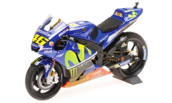 Modelcar - <strong>Yamaha</strong> YZR-M1, No.46, Movistar Yamaha MotoGP, MotoGP, GP Malaysia, Dirty Version, V.Rossi, 2017<br /><br />Minichamps, 1:12<br />No. 227817