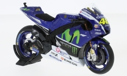 Modelcar - <strong>Yamaha</strong> YZR-M1, No.46, Movistar Yamaha, test, V.Rossi, 2016<br /><br />Minichamps, 1:18<br />No. 227821