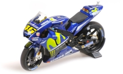 Modellauto - <strong>Yamaha</strong> YZR-M1, No.46, Movistar Yamaha, MotoGP, V.Rossi, 2017<br /><br />Minichamps, 1:18<br />Nr. 227823