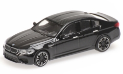ModelCar - <strong>BMW</strong> M5 (F90), metallic-schwarz/carbon, 2018<br /><br />Minichamps, 1:87<br />番号 227902
