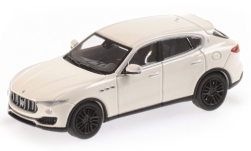 Modellauto - <strong>Maserati</strong> Levante, weiss, 2018<br /><br />Minichamps, 1:87<br />Nr. 227924