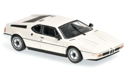 Modellauto - <strong>BMW</strong> M1, weiss, 1979<br /><br />Maxichamps, 1:43<br />Nr. 227961