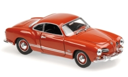 Modellino - <strong>VW</strong> Karmann Ghia Coupé, rosso, 1955<br /><br />Maxichamps, 1:43<br />n. 228002
