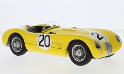 Modelcar - <strong>Jaguar</strong> C-Type, RHD, No.20, Jaguar Racing team, 24h Le Mans, R.Laurent/C.de Tornaco, 1953<br /><br />CMC, 1:18<br />No. 228071