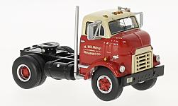 Modelcar - <strong>GMC</strong> C 950 Cannonball Day Cab, red/beige, 1954<br /><br />Neo, 1:64<br />No. 228288