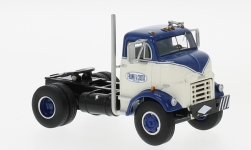 Modelcar - <strong>GMC</strong> C 950 Cannonball Day Cab, dark blue/white, 1954<br /><br />Neo, 1:64<br />No. 228289