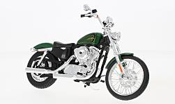 Modelcar - <strong>Harley Davidson</strong> XL 1200V Seventy-Two, metallic-green, 2013<br /><br />Maisto, 1:12<br />No. 228445