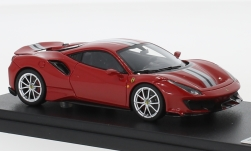Modelcar - <strong>Ferrari</strong> 488 Pista, red/silver, 2018<br /><br />Look Smart, 1:43<br />No. 228531
