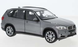 Modellauto - <strong>BMW</strong> X5 (F15), metallic-grau<br /><br />Welly, 1:24<br />Nr. 228622