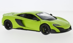 Modellino - <strong>McLaren</strong> 675LT, verde chiaro<br /><br />Welly, 1:24<br />n. 228739