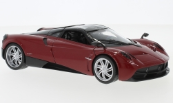 Modellauto - <strong>Pagani</strong> Huayra, dunkelrot<br /><br />Welly, 1:24<br />Nr. 228741