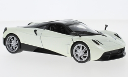 Modellauto - <strong>Pagani</strong> Huayra, metallic-weiss<br /><br />Welly, 1:24<br />Nr. 228742
