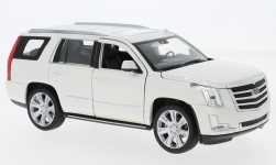 Modelcar - <strong>Cadillac</strong> escalade, white, 2017<br /><br />Welly, 1:24<br />No. 228743