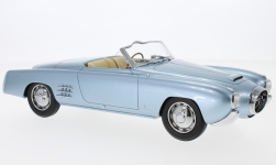 Modelcar - <strong>Lancia</strong> Aurelia PF200 C Spider, metallic-light blue, RHD, 1952<br /><br />BoS-Models, 1:18<br />No. 228792