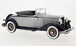 Modellauto - <strong>Dodge</strong> Eight DG Convertible, grau/dunkelblau, 1931<br /><br />BoS-Models, 1:18<br />Nr. 228793