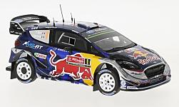 Modelcar - <strong>Ford</strong> Fiesta WRC, No.1, M-Sport Rally team, Red Bull, Rallye WM, Rallye Portugal, S.Ogier/J.Ingrassia, 2017<br /><br />Spark, 1:43<br />No. 228849