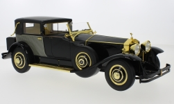 Modelcar - <strong>Rolls Royce</strong> Phantom I Riviera Town Brougham by Brewster & Co., black, 1929<br /><br />CMF, 1:18<br />No. 229003