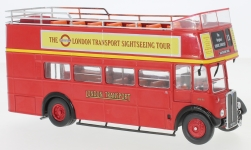 Modellauto - <strong>AEC</strong> Regent RT, RHD, London Transport, Open-Top, 1950<br /><br />IXO, 1:43<br />Nr. 229025