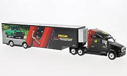 Modellauto - <strong>Kenworth</strong> T2000 Transporter, Mecum, 2017<br /><br />Greenlight, 1:64<br />Nr. 229045