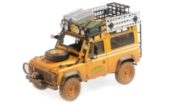 ModelCar - <strong>Land Rover</strong> Defender 90, Camel Trophy, mit Schmutzspuren, 1985<br /><br />Almost Real, 1:18<br />番号 229241