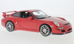 Modelcar - <strong>Porsche</strong> 911 GT3 (997), red<br /><br />Welly, 1:18<br />No. 229372