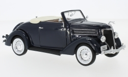 Modelcar - <strong>Ford</strong> Deluxe Convertible, dark blue, 1936<br /><br />Welly, 1:24<br />No. 229373