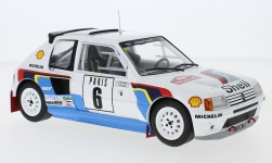 Modellino - <strong>Peugeot</strong> 205 T16, No.6, rally WM, rally Monte Carlo, T.Salonen/S.Harjanen, 1985<br /><br />IXO, 1:18<br />n. 229376