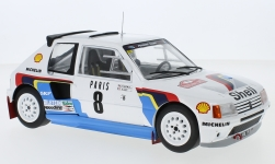 Modellino - <strong>Peugeot</strong> 205 T16, No.8, rally WM, rally Monte Carlo, B.Saby/J-F.Fauchille, 1985<br /><br />IXO, 1:18<br />n. 229377