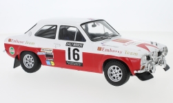 Modellino - <strong>Ford</strong> Escort MK1 RS 1600, No.16, Embassy, RAC rally, T.Makinen/H.Liddon, 1971<br /><br />IXO, 1:18<br />n. 229382