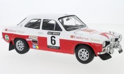 Modellino - <strong>Ford</strong> Escort MK1 RS 1600, No.6, Embassy, RAC rally, R.Clark/J.Porter, 1971<br /><br />IXO, 1:18<br />n. 229383