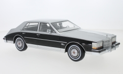 Modelcar - <strong>Cadillac</strong> Seville, metallic-grey/black, 1980<br /><br />BoS-Models, 1:18<br />No. 229391