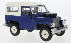 Modellauto - <strong>Land Rover</strong> Lightweight Series III, dunkelblau, RHD, Hard Top, 1973<br /><br />BoS-Models, 1:18<br />Nr. 229393