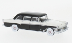 Modelcar - <strong>ZIL</strong> 111-V, black/white, 1966<br /><br />BoS-Models, 1:87<br />No. 229398