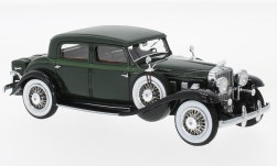Modelcar - <strong>Stutz</strong> DV32 Monte Carlo Sedan by Weymann, dark green, 1933<br /><br />Neo, 1:43<br />No. 229408