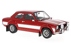 Modellauto - <strong>Ford</strong> Escort MK I, rood/wit<br /><br />Triple 9 Collection, 1:18<br />Nr. 229511