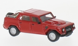 Modellauto - <strong>Lamborghini</strong> LM002, rot, 1986<br /><br />BoS-Models, 1:87<br />Nr. 229524