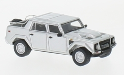 Modelcar - <strong>Lamborghini</strong> LM002, silver, 1986<br /><br />BoS-Models, 1:87<br />No. 229525