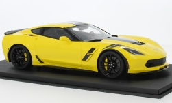 Modellauto - <strong>Chevrolet</strong> Corvette Grand Sport, gelb/schwarz, 2017<br /><br />Top Speed, 1:18<br />Nr. 229547
