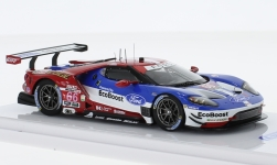 Modelcar - <strong>Ford</strong> GT, No.66, Ford Chip Ganassi Racing, 24h Daytona, D.Müller/J.Hand/S.Bourdais, 2017<br /><br />TrueScale Miniatures, 1:43<br />No. 229557