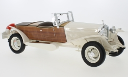 Modellauto - <strong>Rolls Royce</strong> Phantom II Boat Tail Tourer, weiss/Holzoptik, RHD, 1932<br /><br />CMF, 1:18<br />Nr. 229572