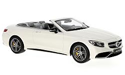 Modelcar - <strong>Mercedes</strong> AMG S 63 Convertible, white<br /><br />I-GT Spirit, 1:18<br />No. 229585