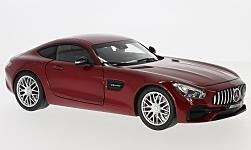 Modelcar - <strong>Mercedes</strong> AMG GT (C190), metallic-red<br /><br />I-Norev, 1:18<br />No. 229586