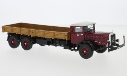 Modelcar - <strong>Mercedes</strong> L 10000, dark red/beige, 1937<br /><br />Neo, 1:43<br />No. 229595