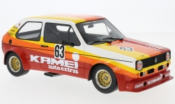Modelcar - <strong>VW</strong> Golf I Gr.2, No.63, Kamei, 1000 Km Nuerburgring, B.Renneisen/W.Wolf, 1977<br /><br />BoS-Models, 1:18<br />No. 229632