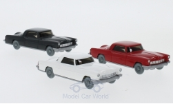 Modelo de coche - <strong>Set</strong> WIKING-VERKEHRS-MODELLE Nr.70B:, 3 x Ford Continental<br /><br />Wiking / PMS, 1:87<br />Nº 229636