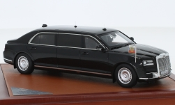 Modelcar - <strong>Aurus</strong> Senat, black, Russian State Car, 2018<br /><br />CMF, 1:43<br />No. 229732