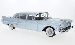 Modelcar - <strong>Cadillac</strong> Fleetwood 75 Limousine, metallic-light blue, 1958<br /><br />BoS-Models, 1:18<br />No. 229733