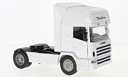 Modelcar - <strong>Scania</strong> R124/400, white, towing vehicle<br /><br />New Ray, 1:32<br />No. 229781